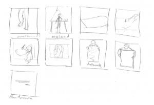Alan Kemp Storyboard Sketch