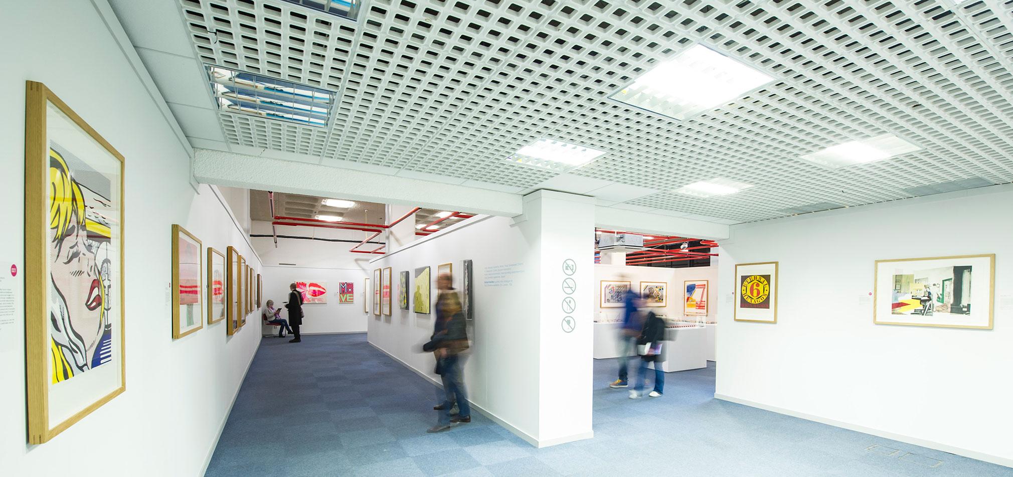 Chester Visual Arts Pop Art Exhibition